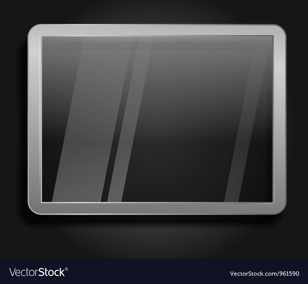 Advertising glass board