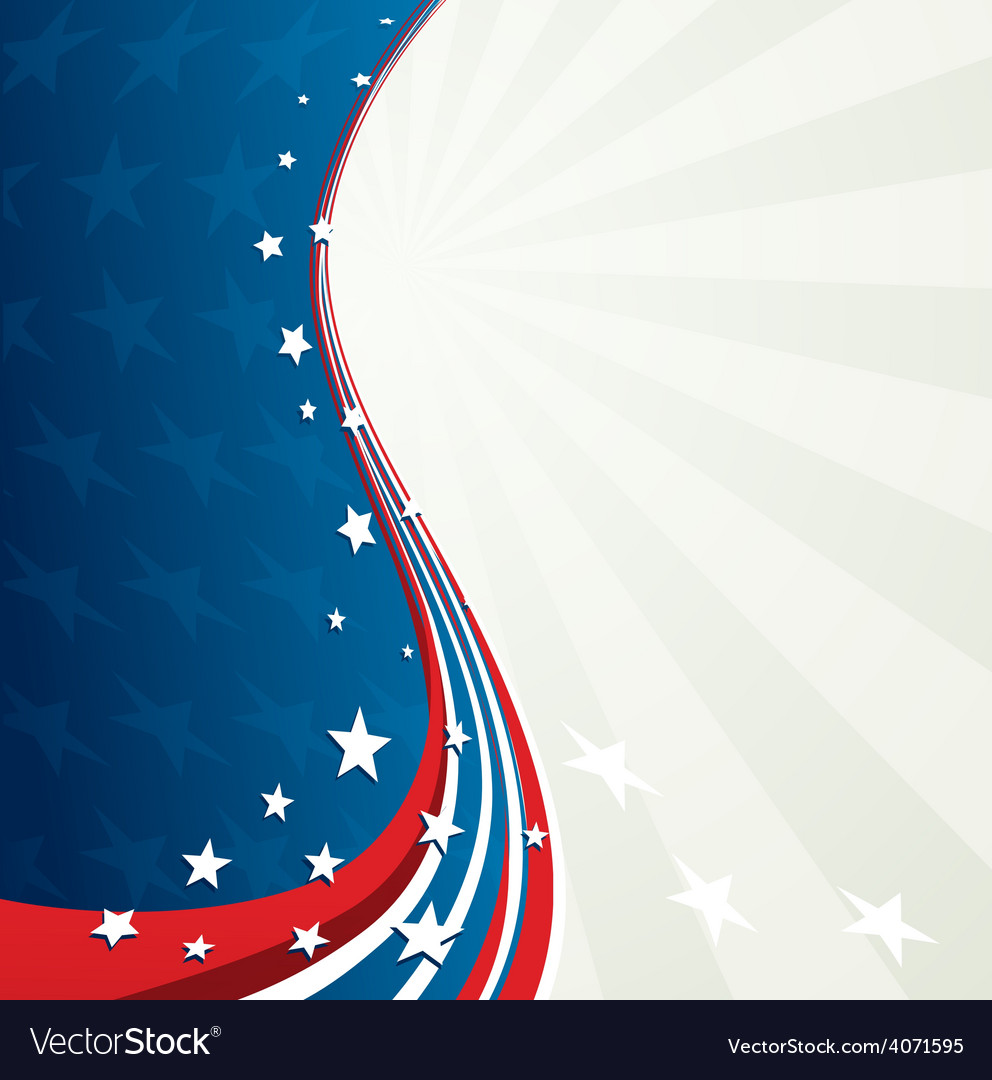 independence day patriotic background royalty free vector