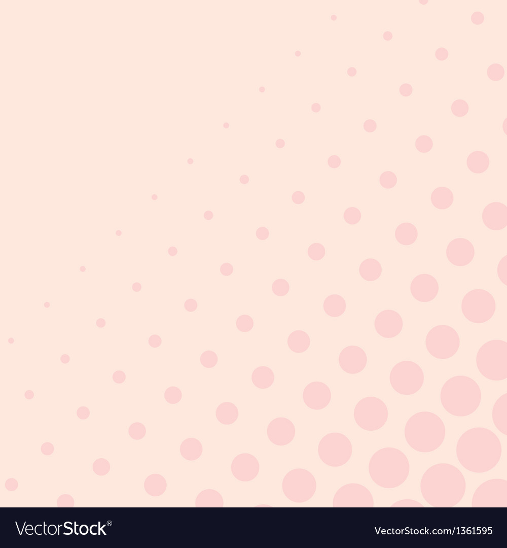 Pink background with big and small dots