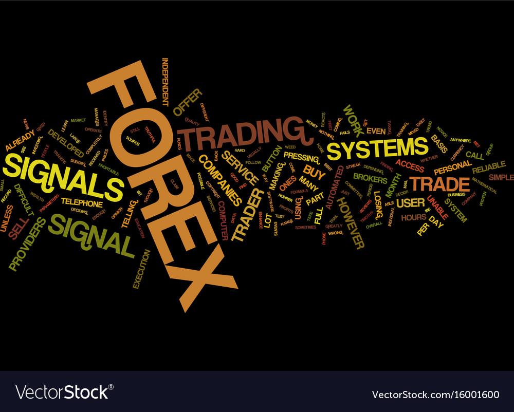Wealth generators forex signals
