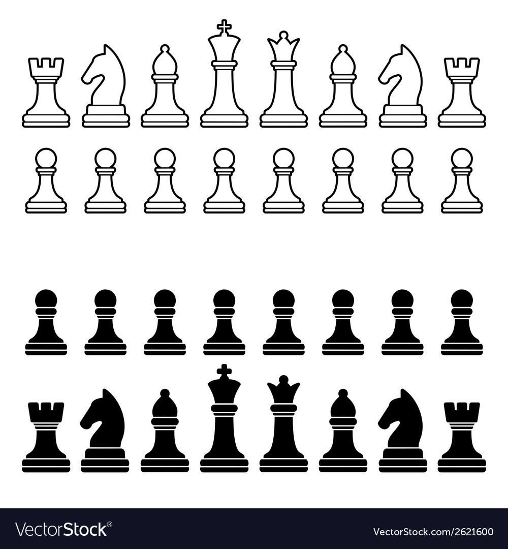 Eloquent image intended for printable chess pieces