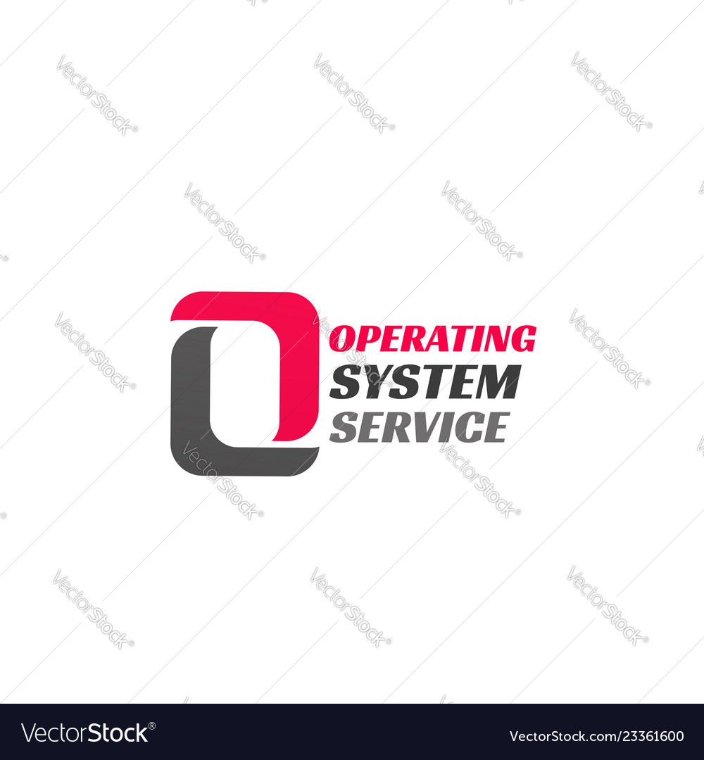 Operating system service icon