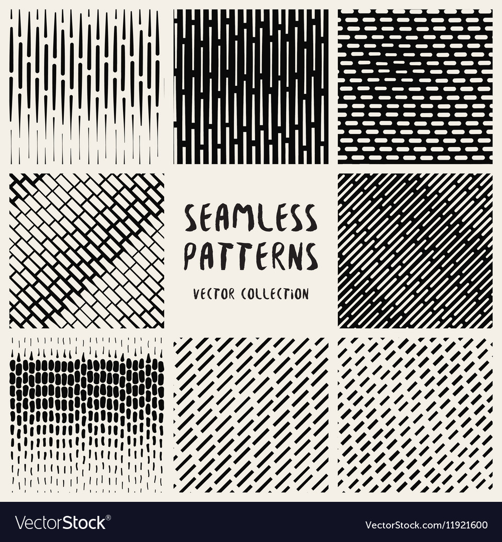 Set Geometric Seamless Pattern