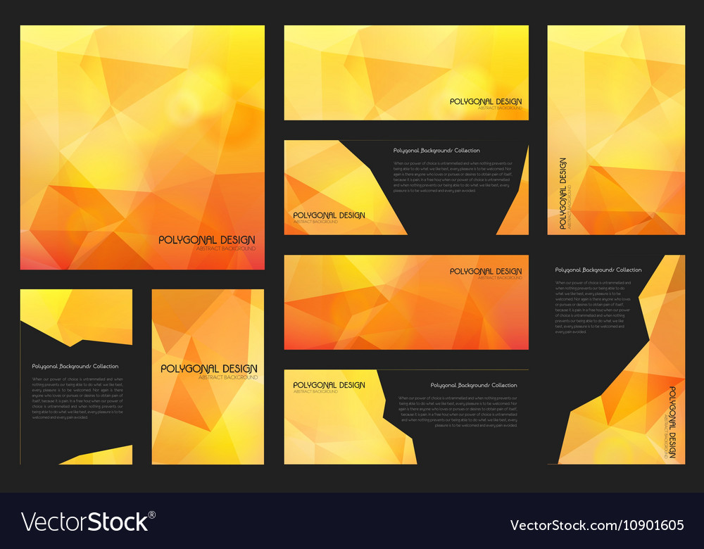 Abstract trendy polygnal design background