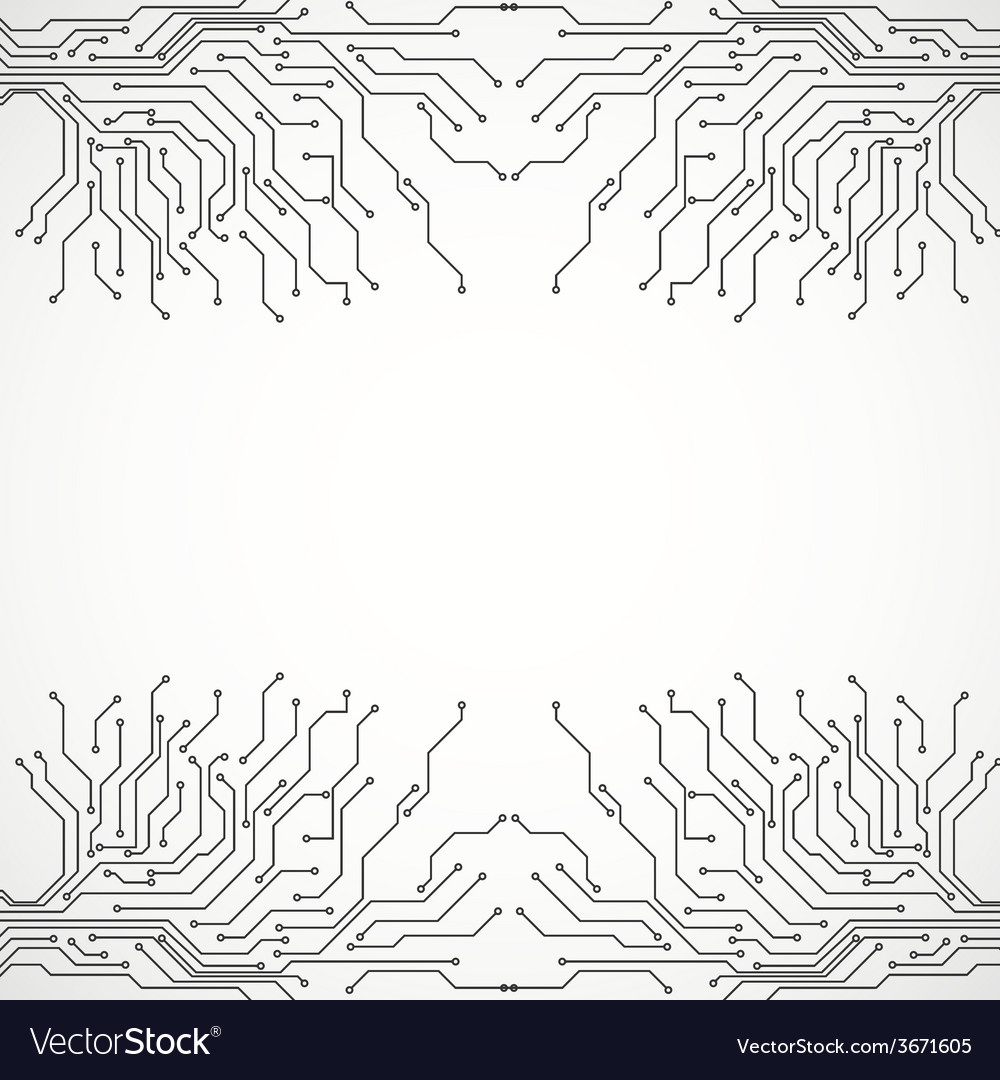 Circuit board background texture Royalty Free Vector Image