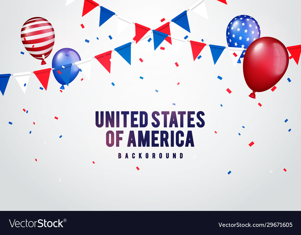 United states america party background