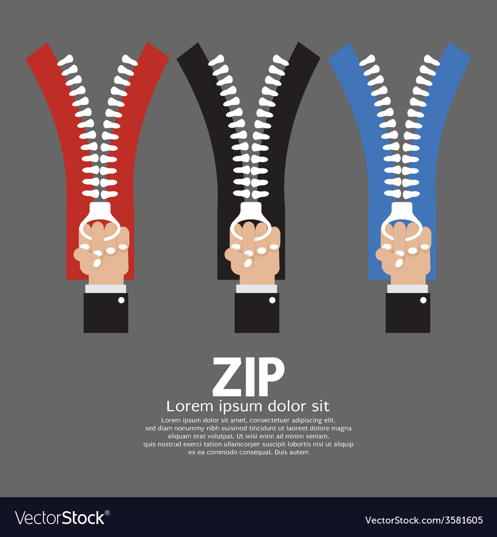 Zip With Hand Collection
