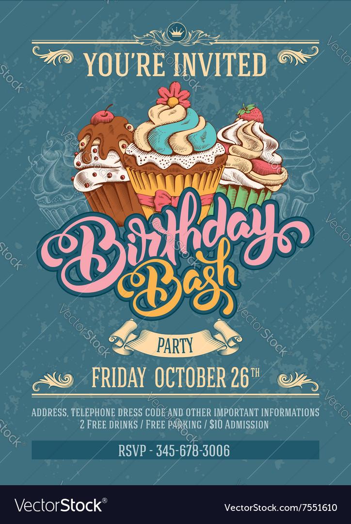 Birthday Bash Party