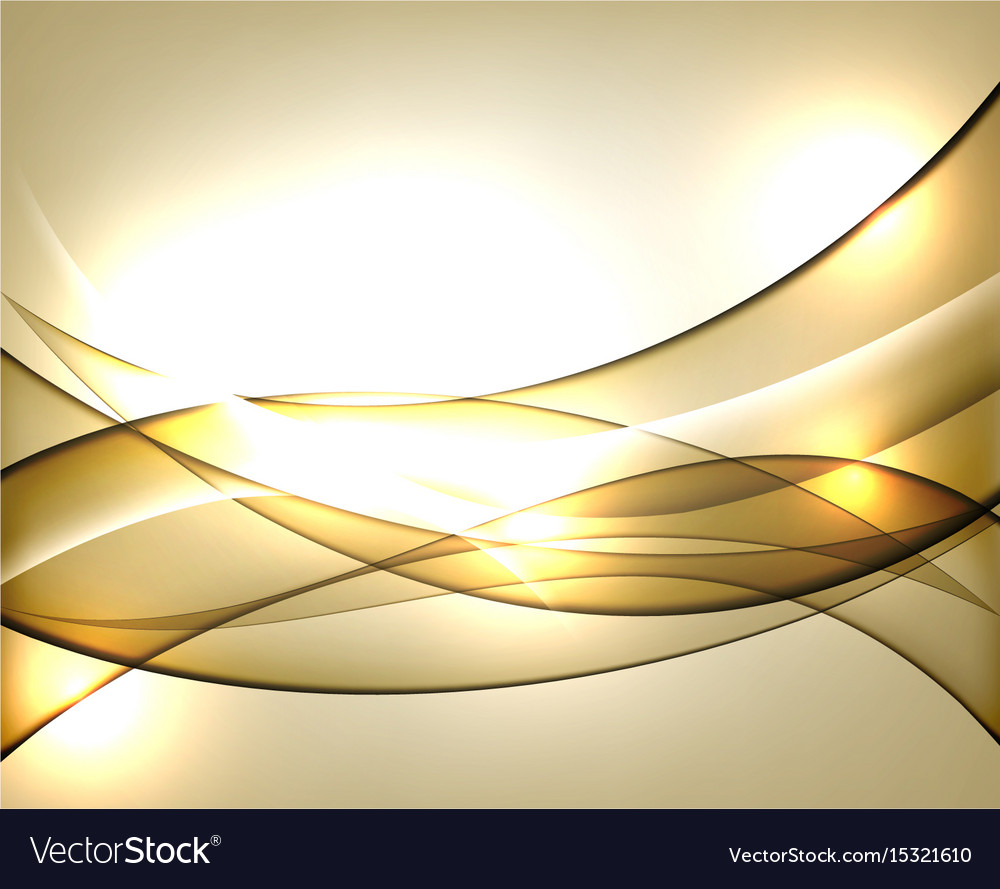 Gold template abstract background with Royalty Free Vector