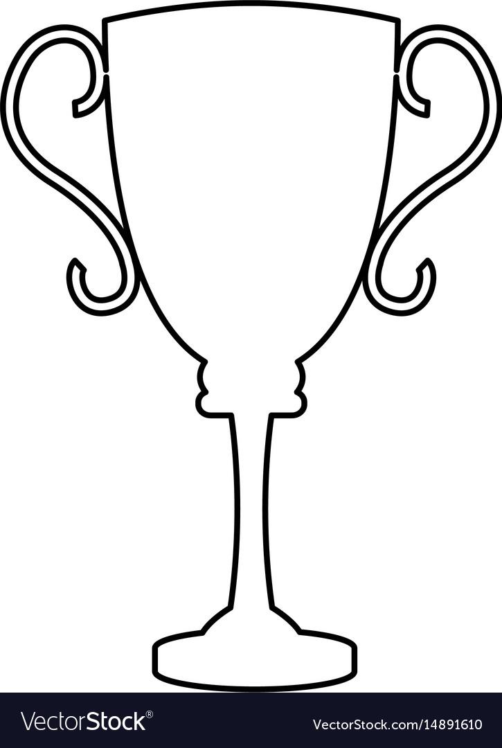 Trophy award sport winner element