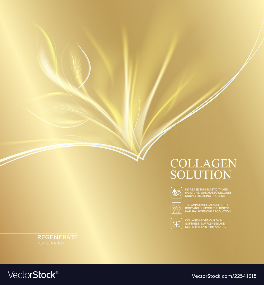 Beautiful abstract lights over golden background