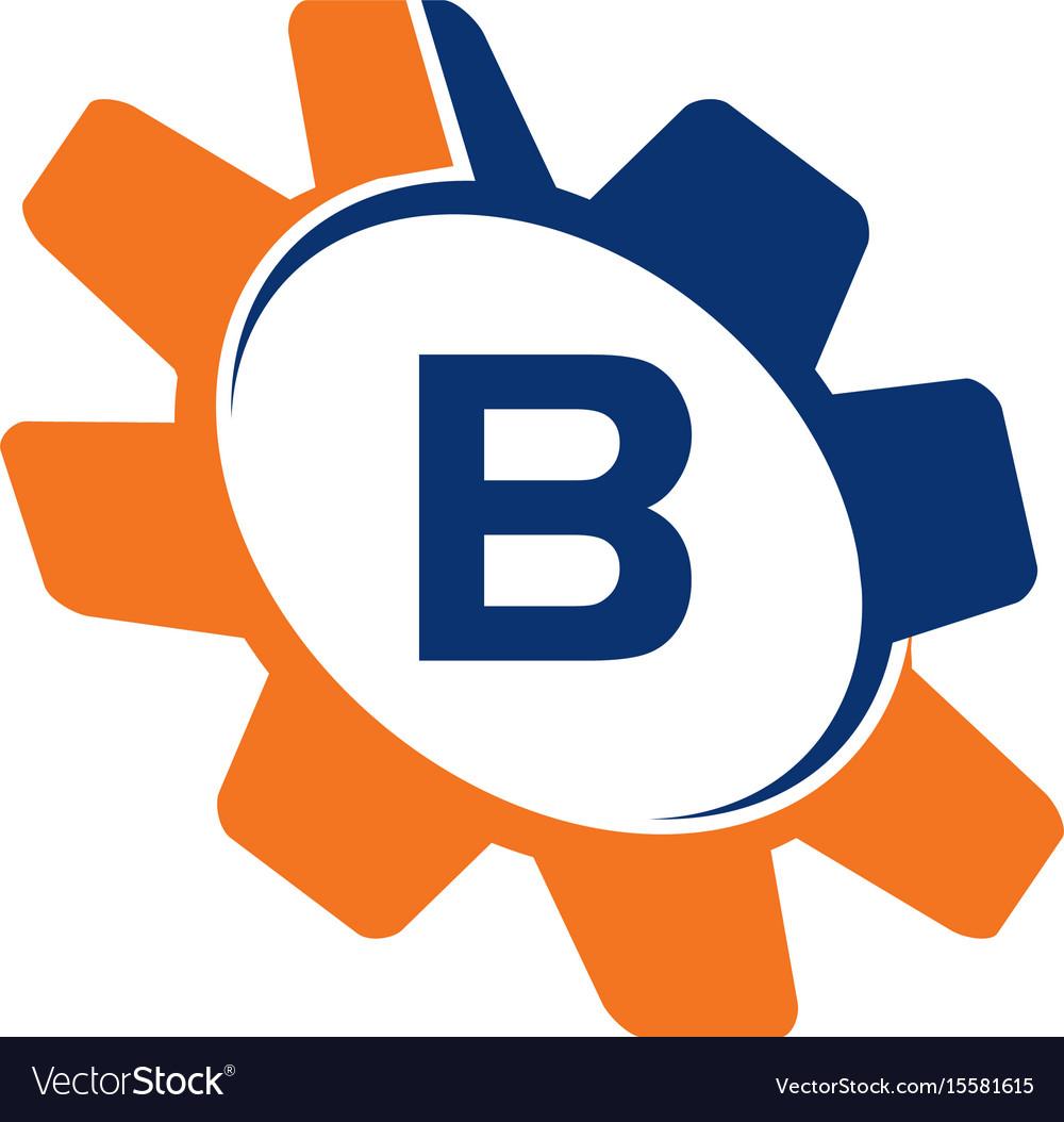 Gear initial b vector image