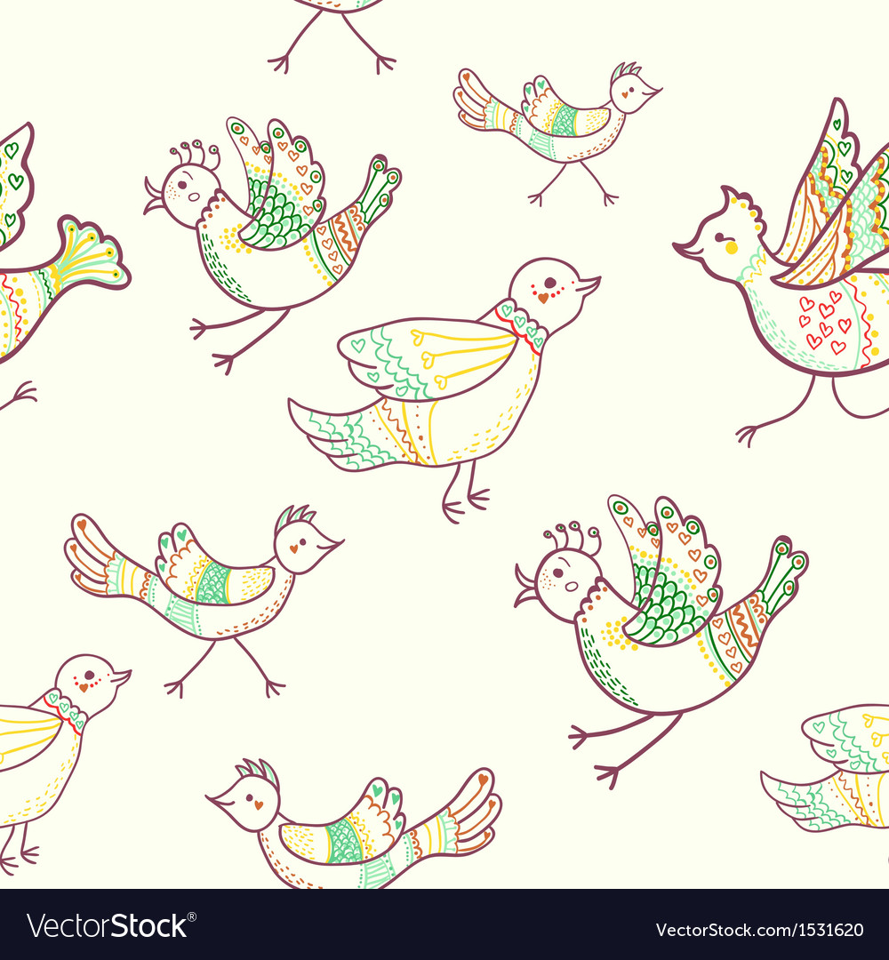 Birds seamless