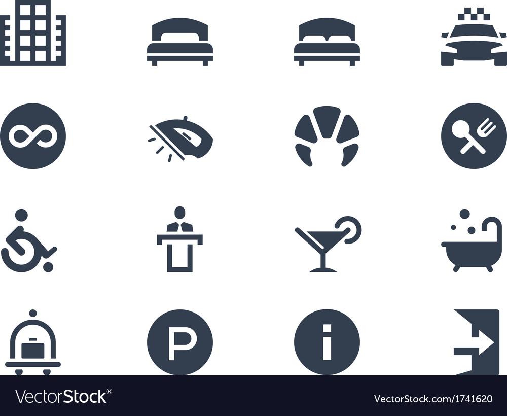 Hotel icons