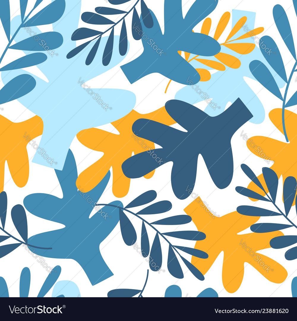 Modern Contemporary Art Style Abstract Floral