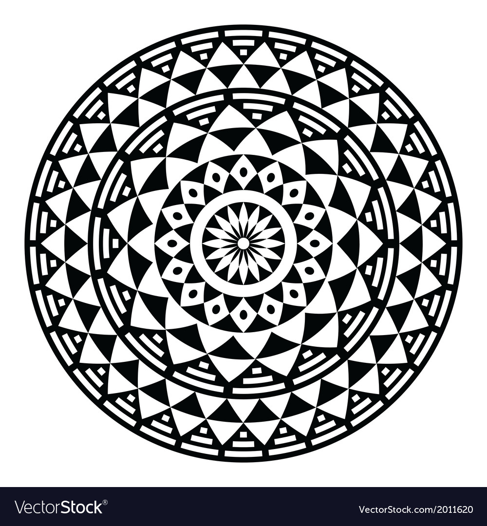 Geometric Circle Patterns
