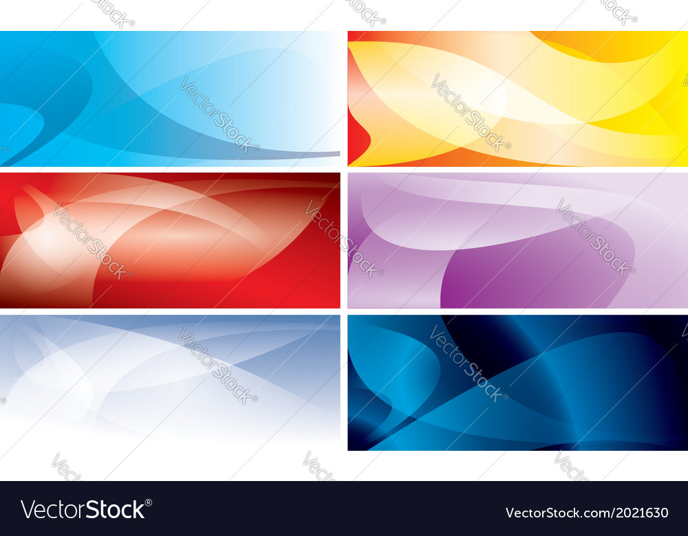 Abstract colorful backgrounds with wavy lines