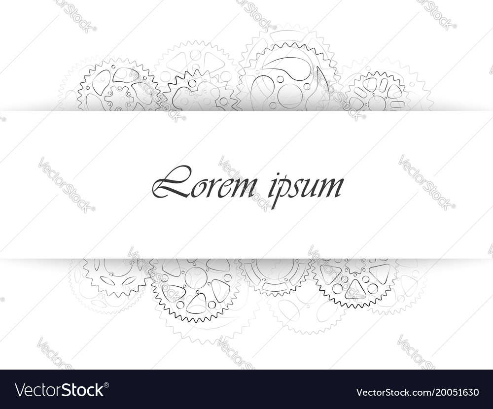 Business card template or wedding invitation vector image friedricerecipe Images