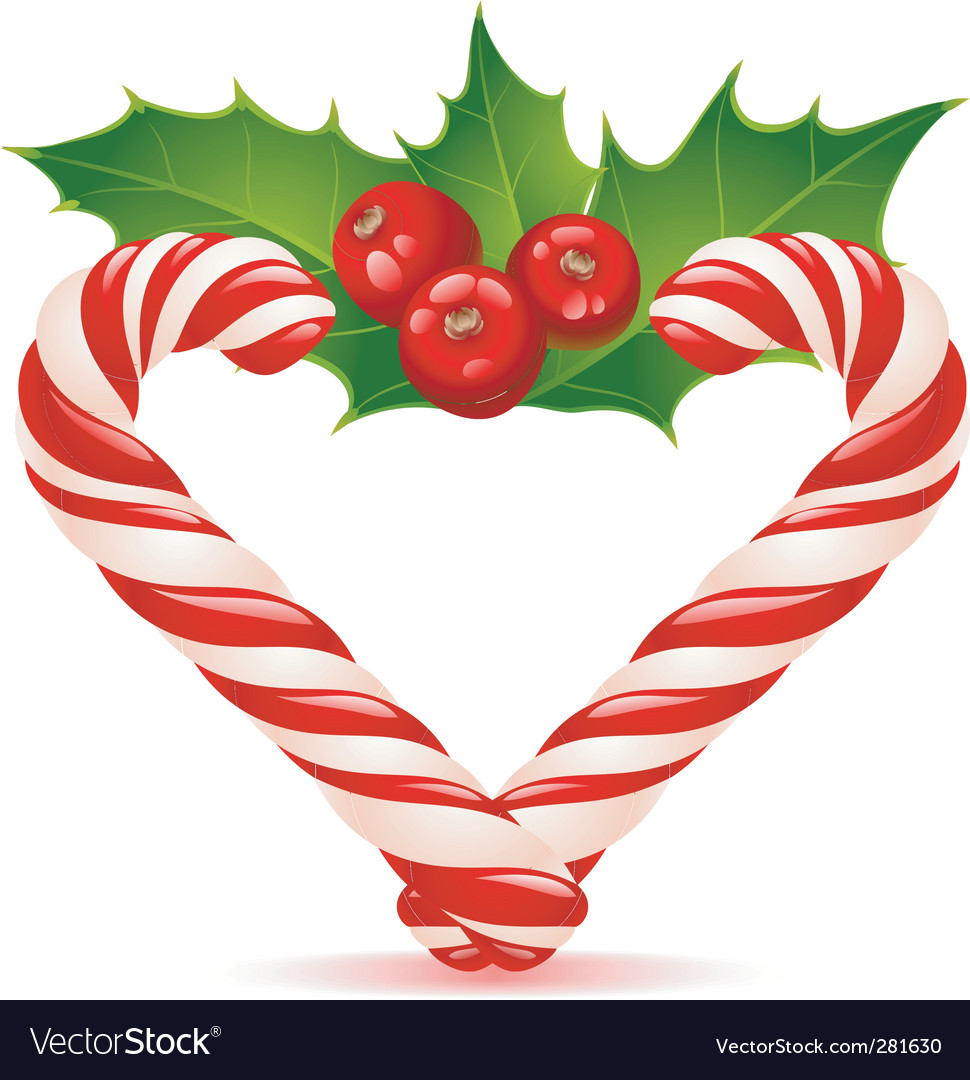 Christmas Heart Png.Christmas Heart Candy Canes