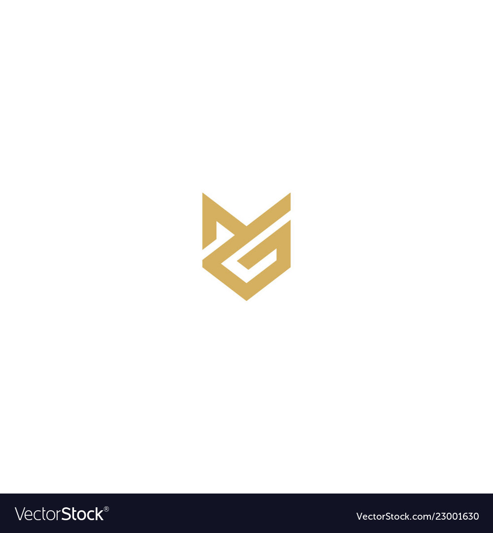 Initial sign abstract logo