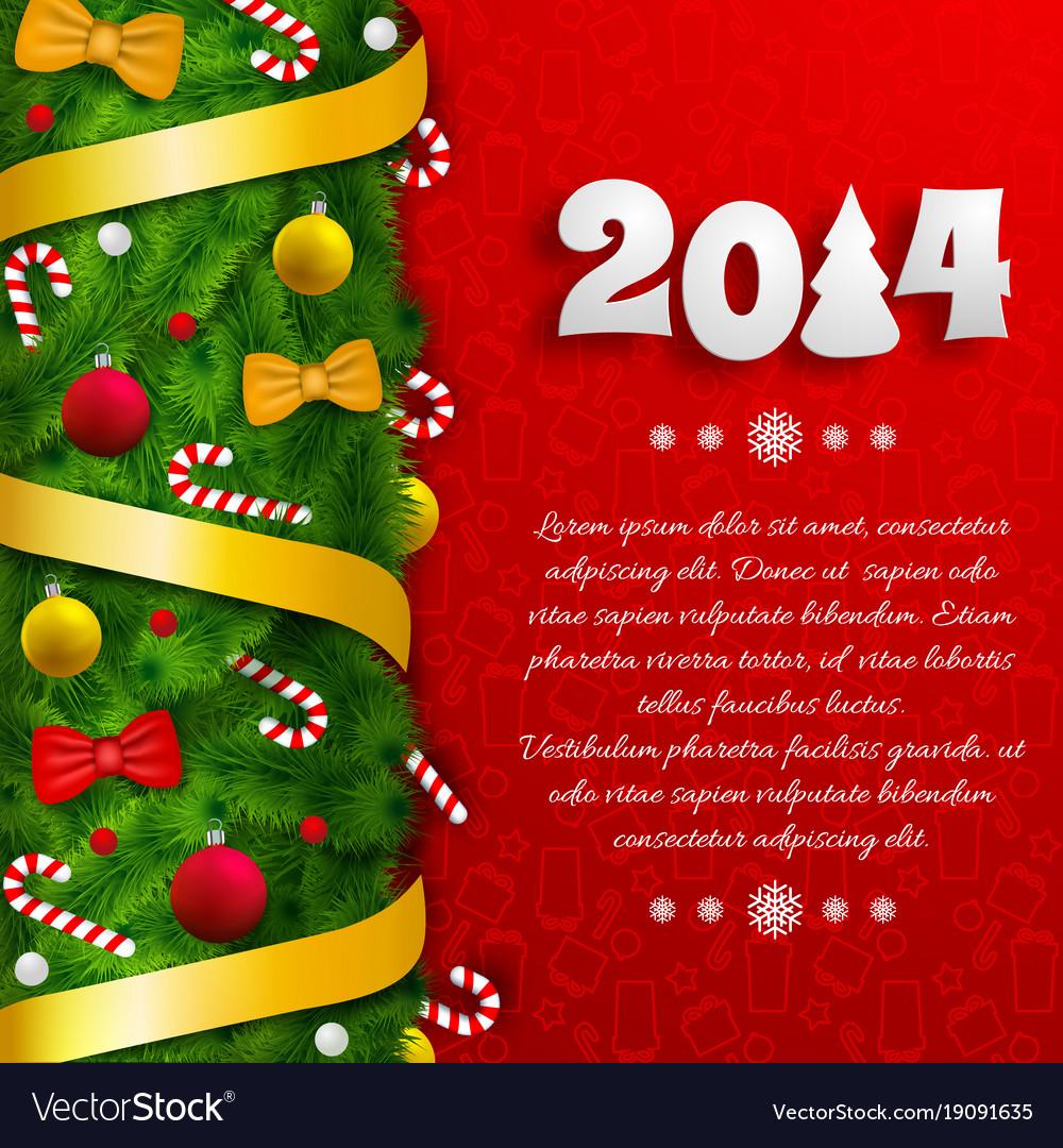 Merry christmas festive poster