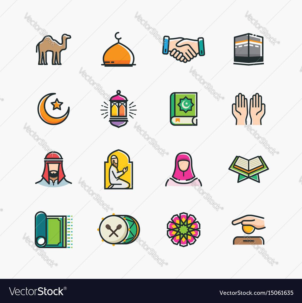 Set islamic icons