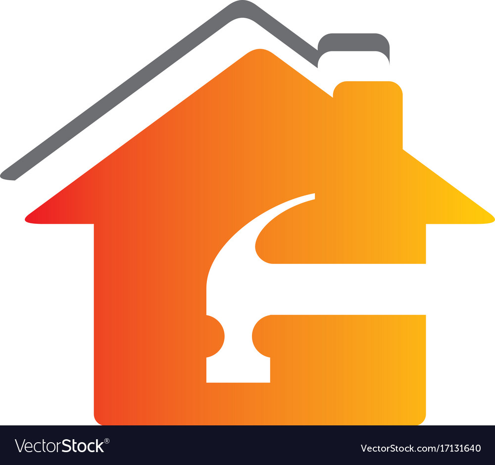 roof house maintenance logo royalty free vector image rh vectorstock com maintenance logo designs maintenance logos pics