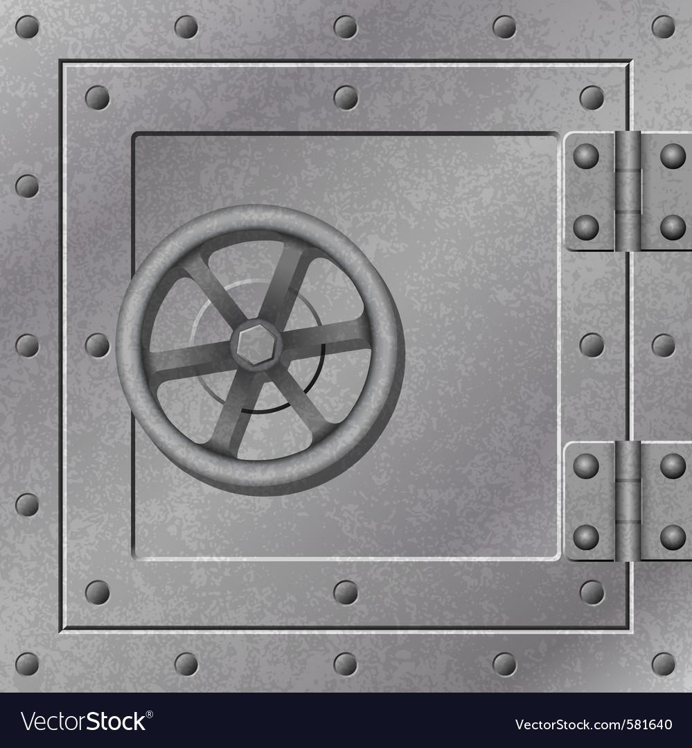 Strong box vector image