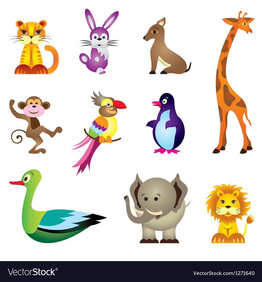 Wild animals toys