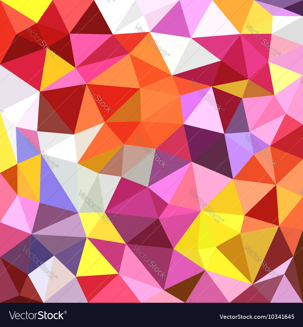 Polygonal triangles background
