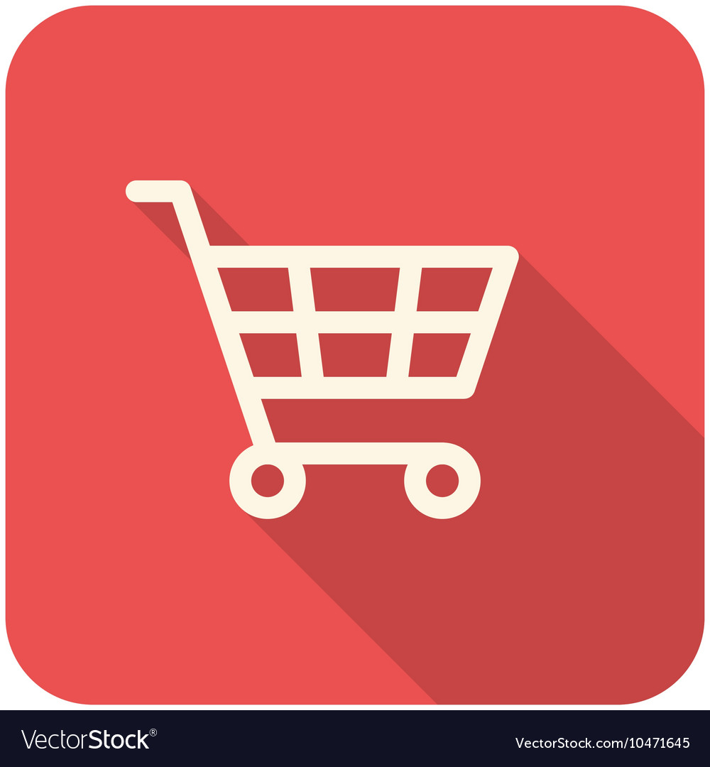 shopping cart icon royalty free vector image vectorstock rh vectorstock com shopping cart icon vector psd shopping cart icon vector white