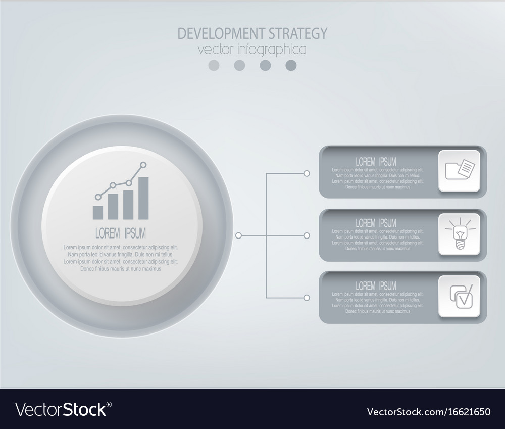 Abstract element for businessstrategy in