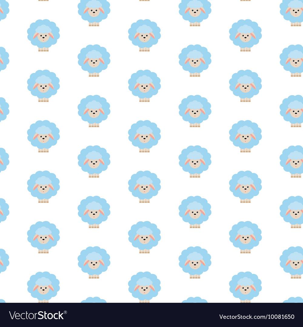 Blue sheep Pattern