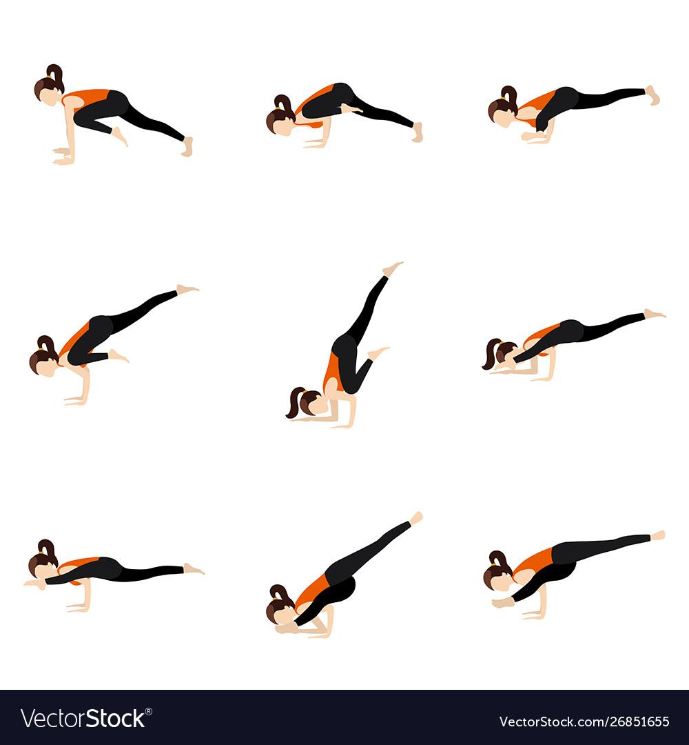 Yoga Sequence Arm Balance