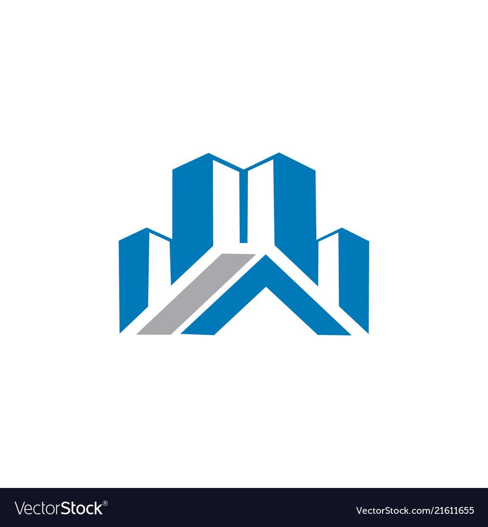 City building business logo
