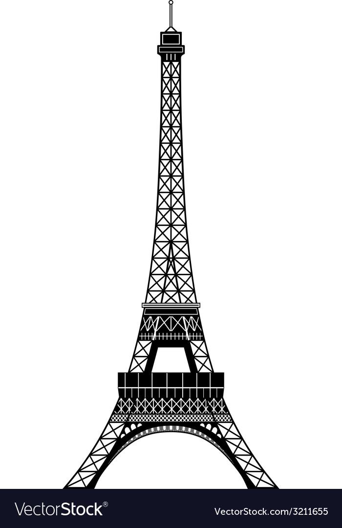 tour eiffel royalty free vector image vectorstock vectorstock