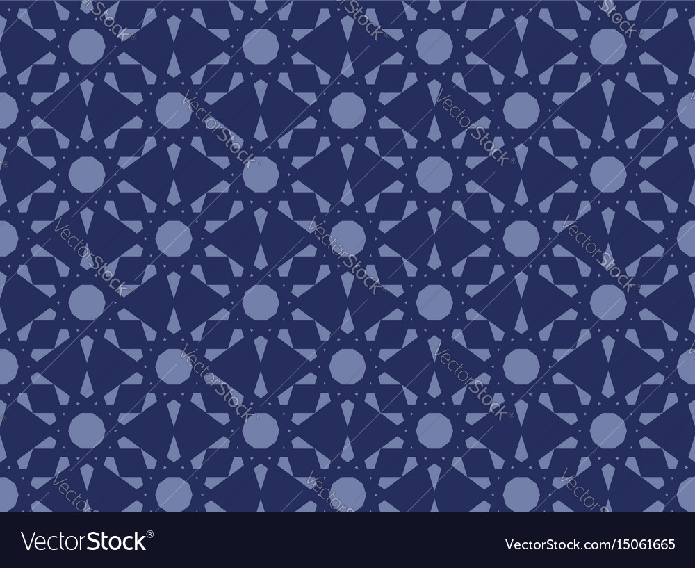 Abstract seamless islamic pattern