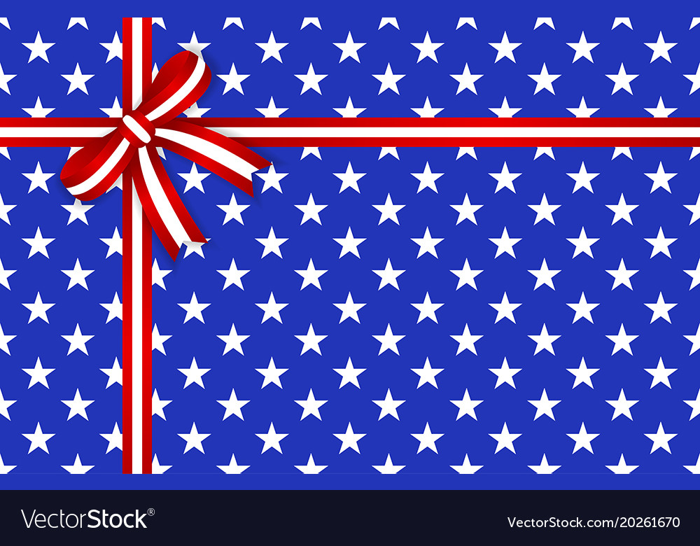 America star abstract seamless pattern