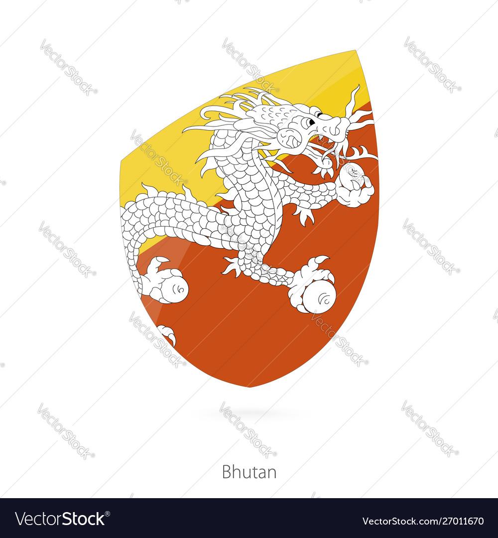 Flag bhutan