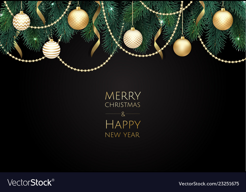 Merry christmas and happy new year xmas