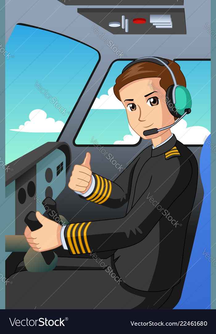 Pilot of an airplane