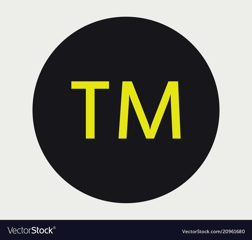 Registered Trademark Icon Royalty Free Vector Image
