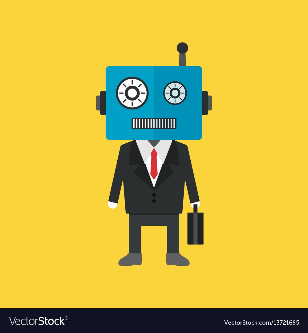 484robot businessman