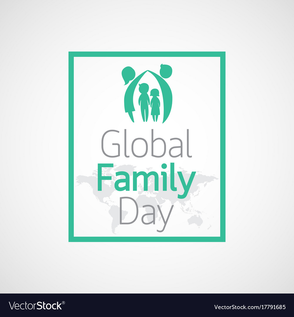 Global family day icon