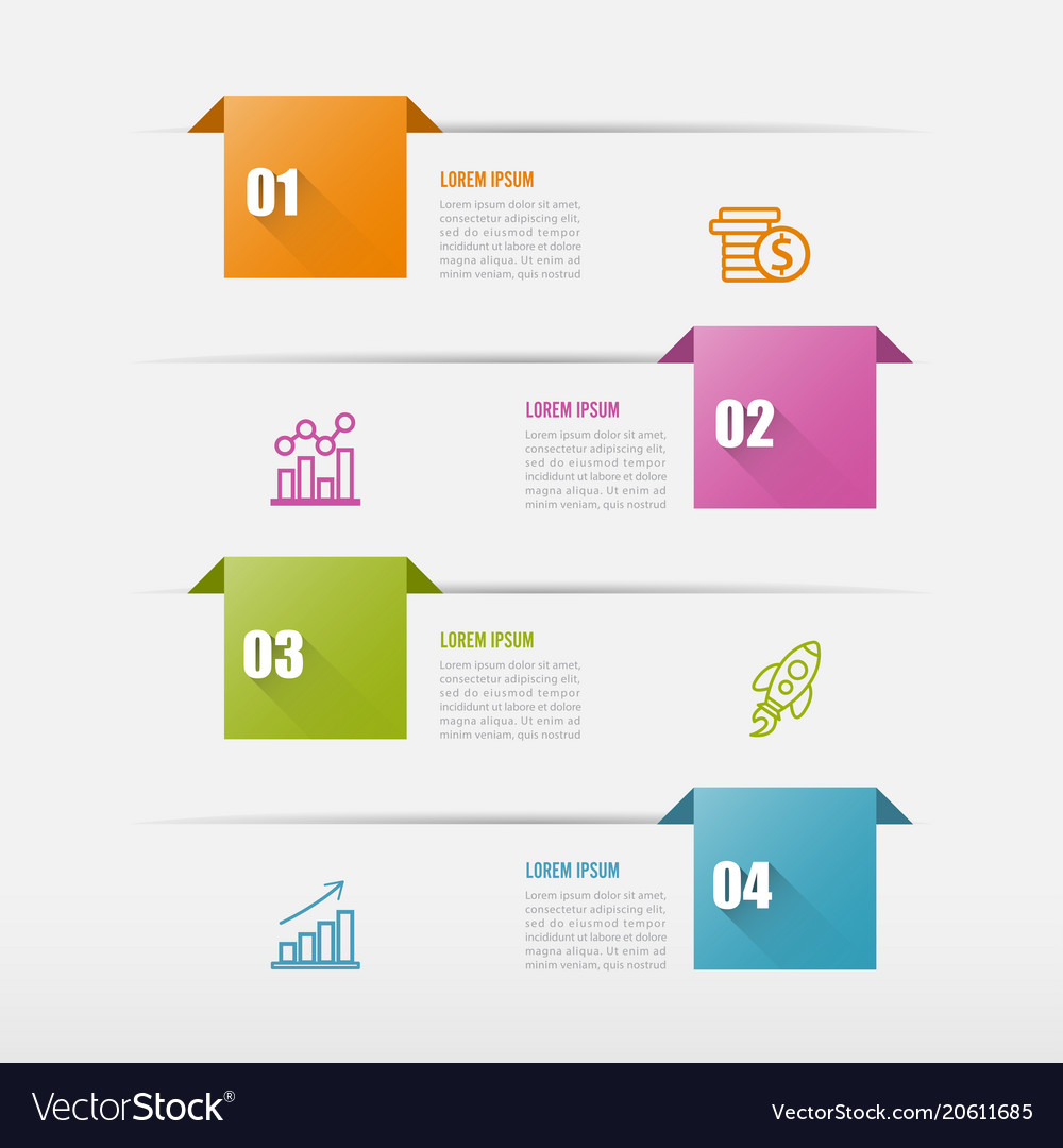 Infographics design and marketing icons can be