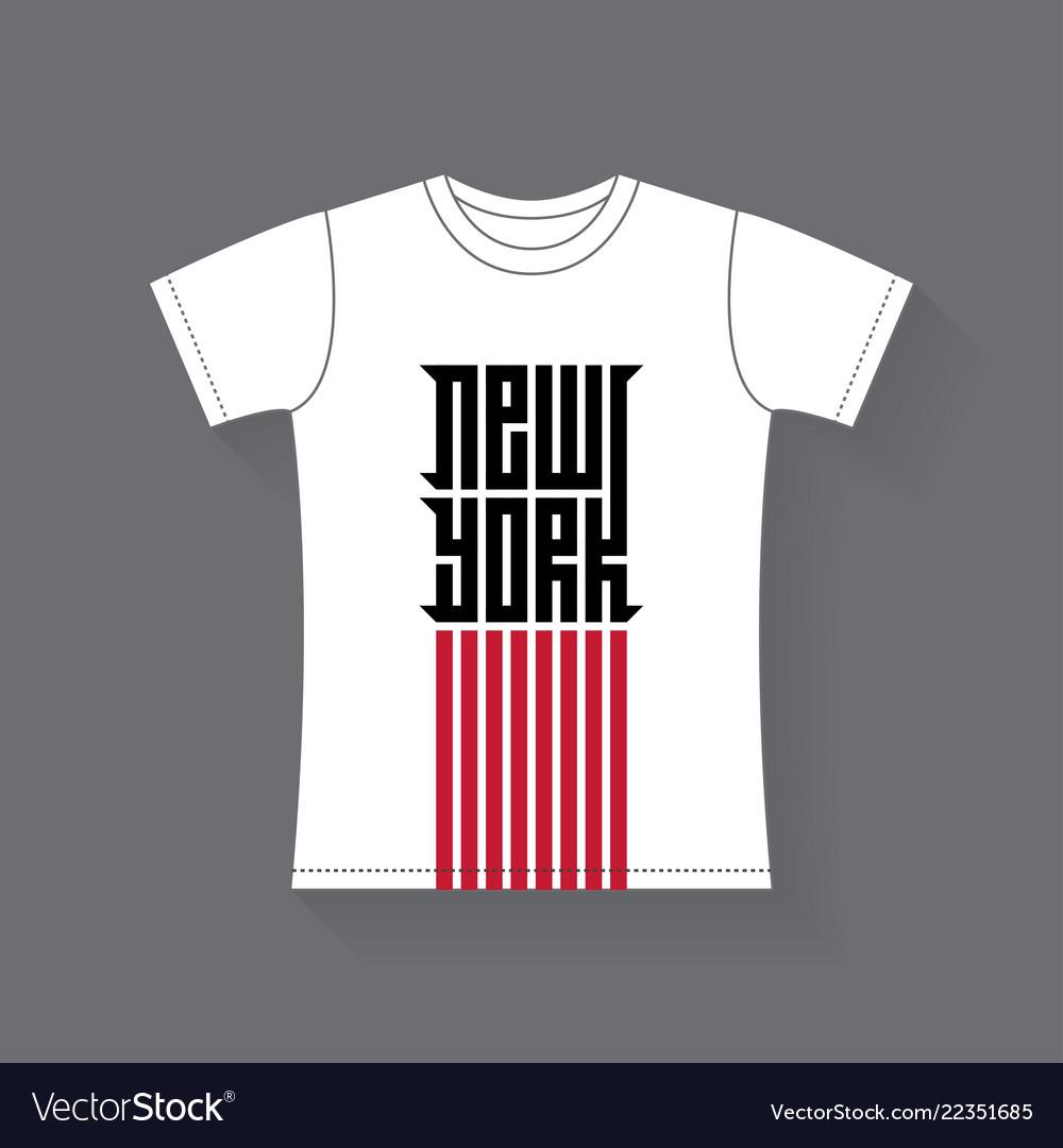 New york - t-shirt design tee shirt graphics