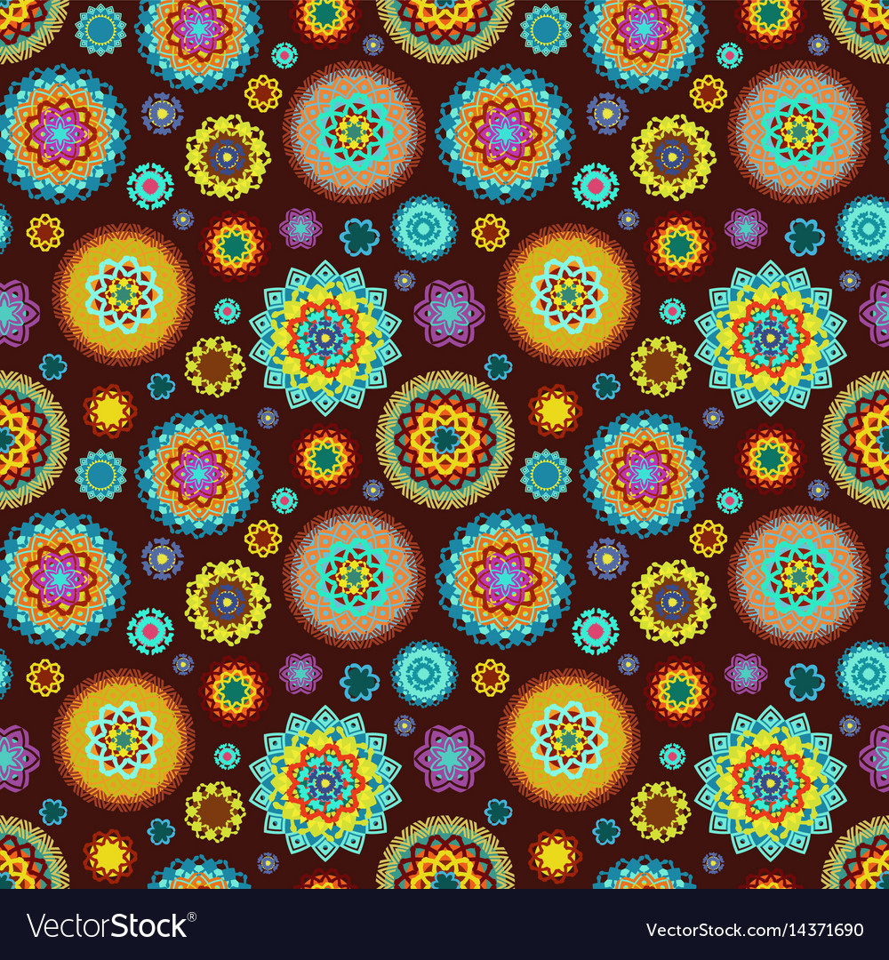 Fine seamless texture with colorful happy