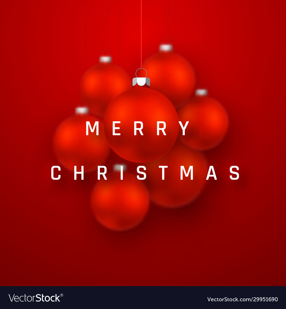 Merry christmas or new year greeting card holiday