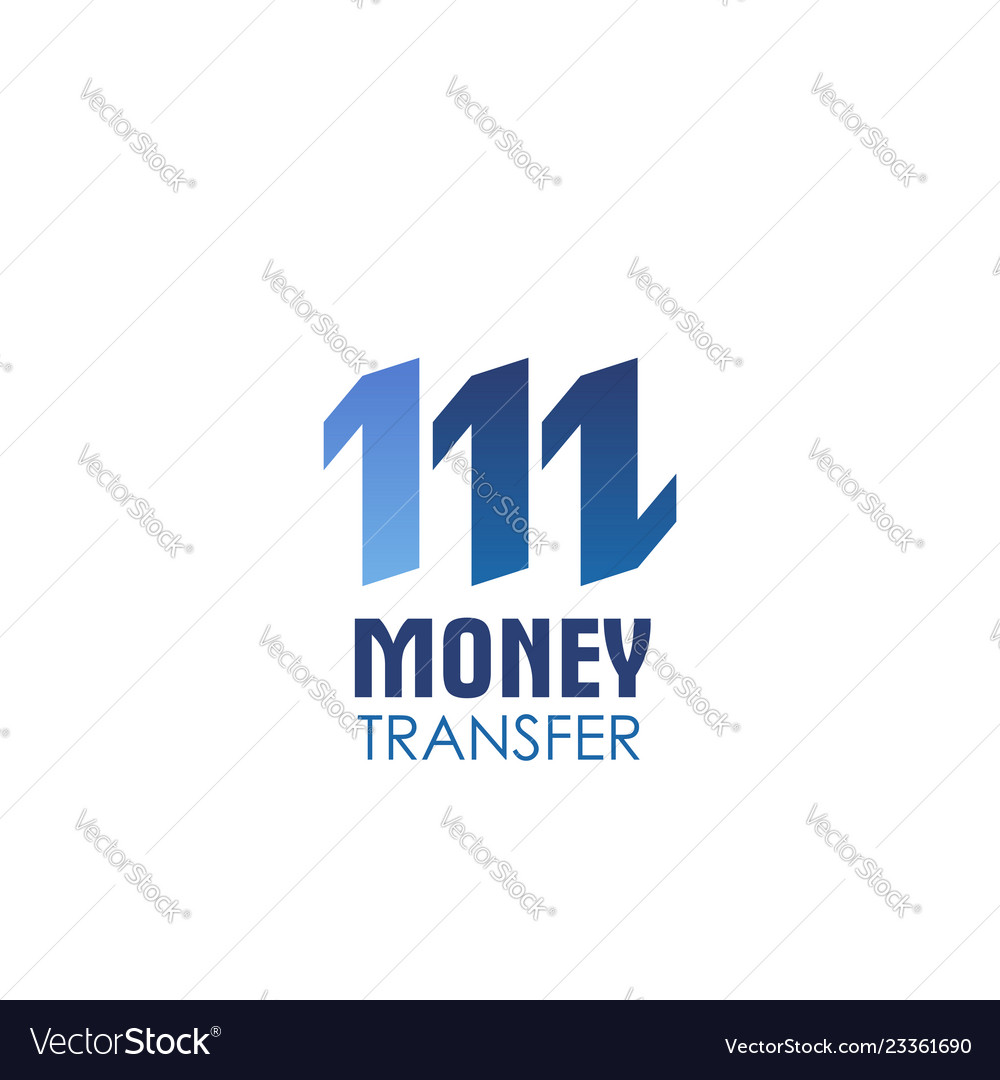 Money transfer icon for currency exchange service
