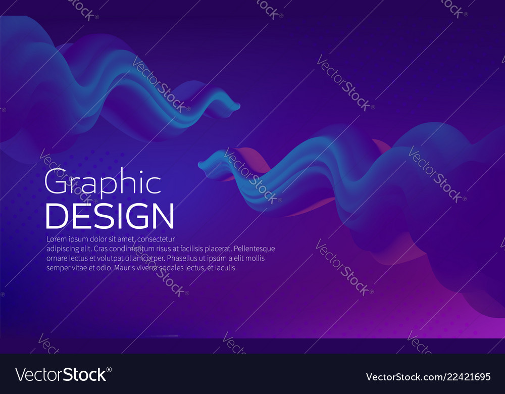 Fluid shape liquid wave